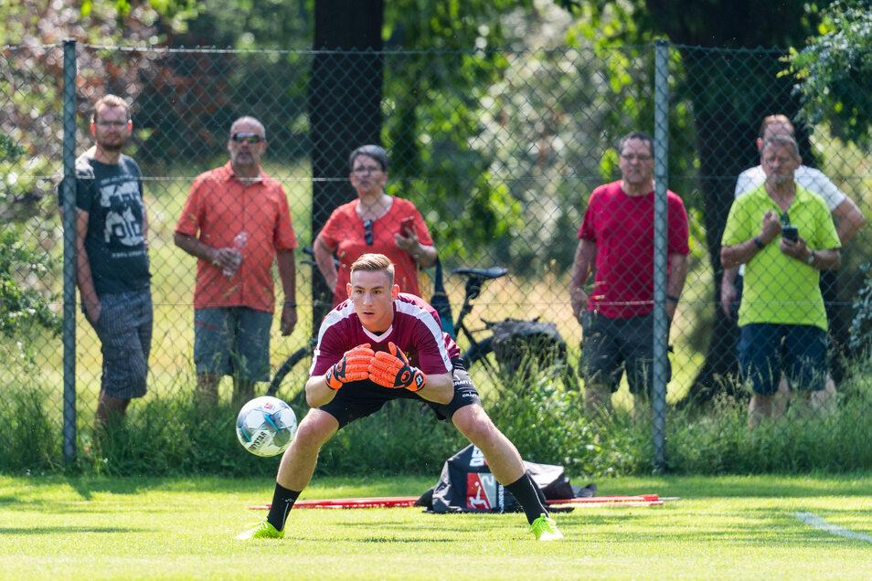 Kevin Broll ist der Nachfolger von Keeper Markus Schubert.
