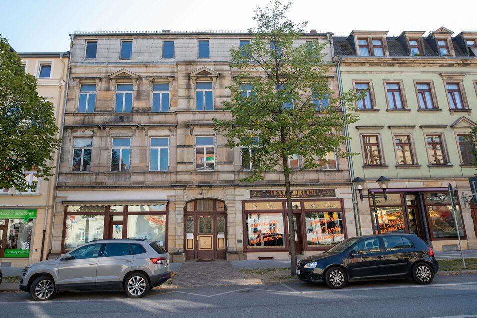 Haus Breite Straße 7 in Pirna: Das Dachgeschoss dient künftig als Wohnraum.