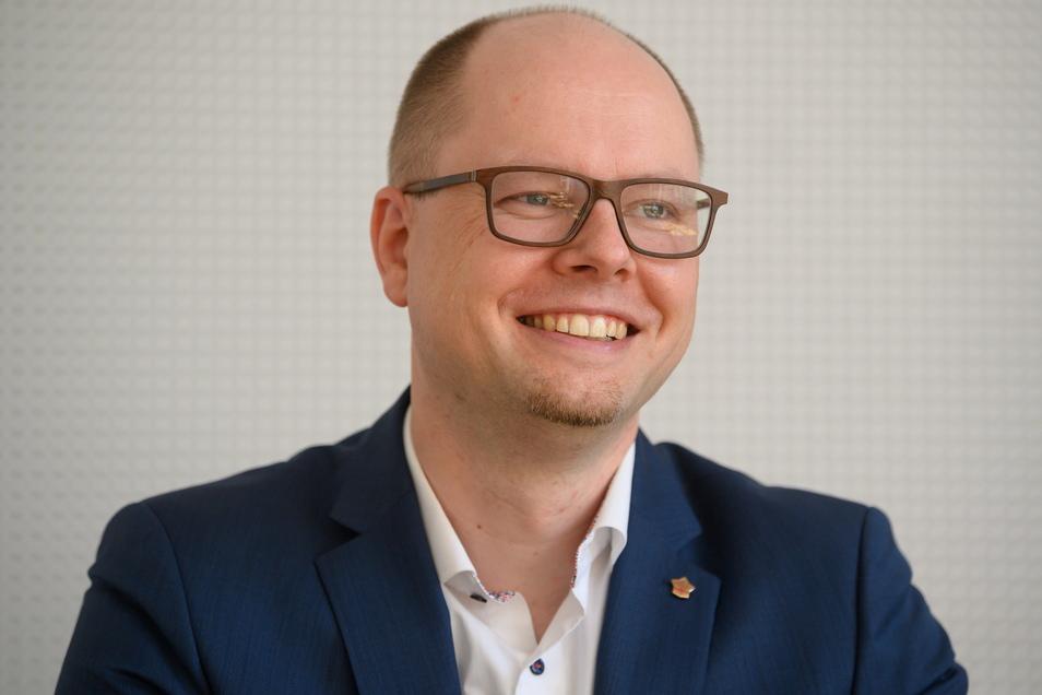 David Statnik, Vorsitzender der Domowina - Bund Lausitzer Sorben.