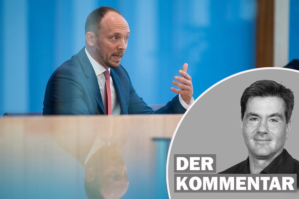 Marco Wanderwitz (CDU), Ostbeauftragter der Bundesregierung, hat mit seinen Thesen über Ostdeutschland für Wirbel gesorgt.