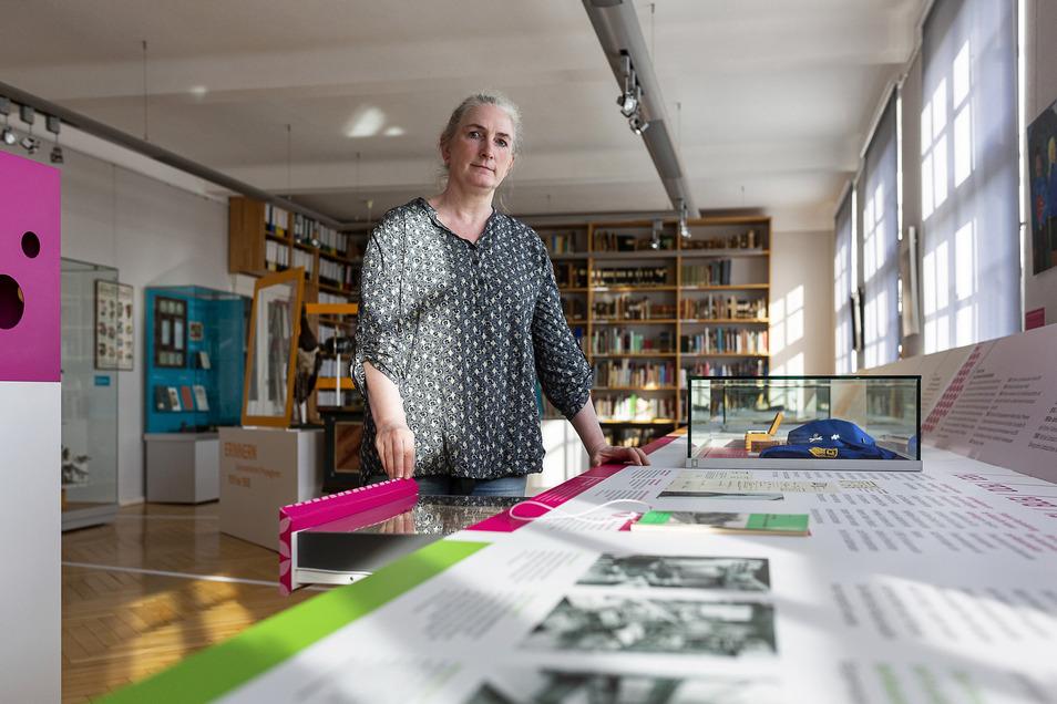 Angelika Marienfeldt lädt wieder zu einem Besuch in das Wilsdruffer Heimatmuseum ein.