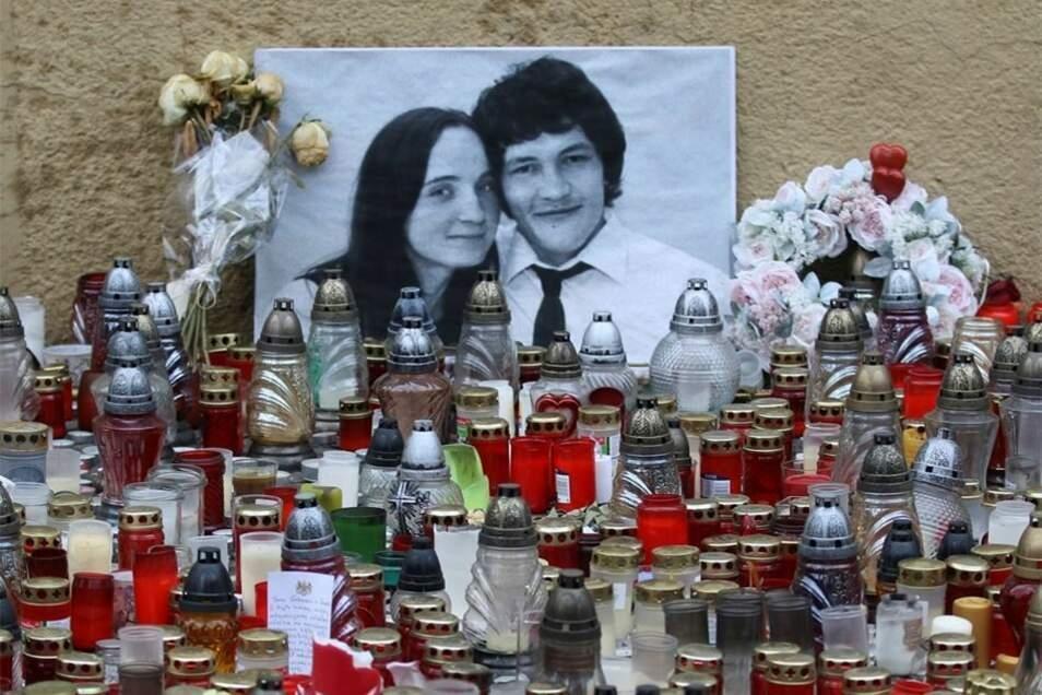 Enthüllungsjournalist Jan Kuciak und seine Verlobte Martina Kusnirova waren