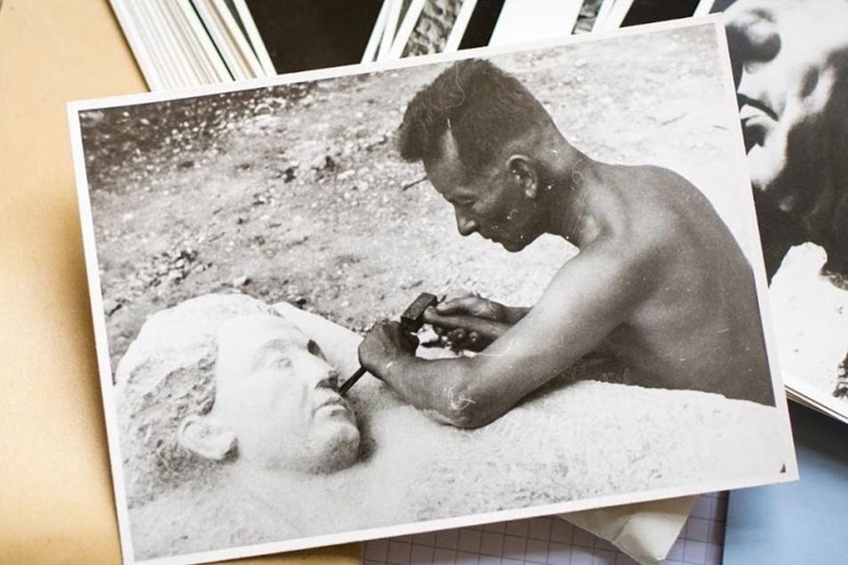 Das Archiv der Vertriebenen hält einige Schätze bereit, die es so bisher in Decin nicht gab, wie Fotografien des Bildhauers Fritz Tampe, der Decins Stadtbild maßgeblich prägte.