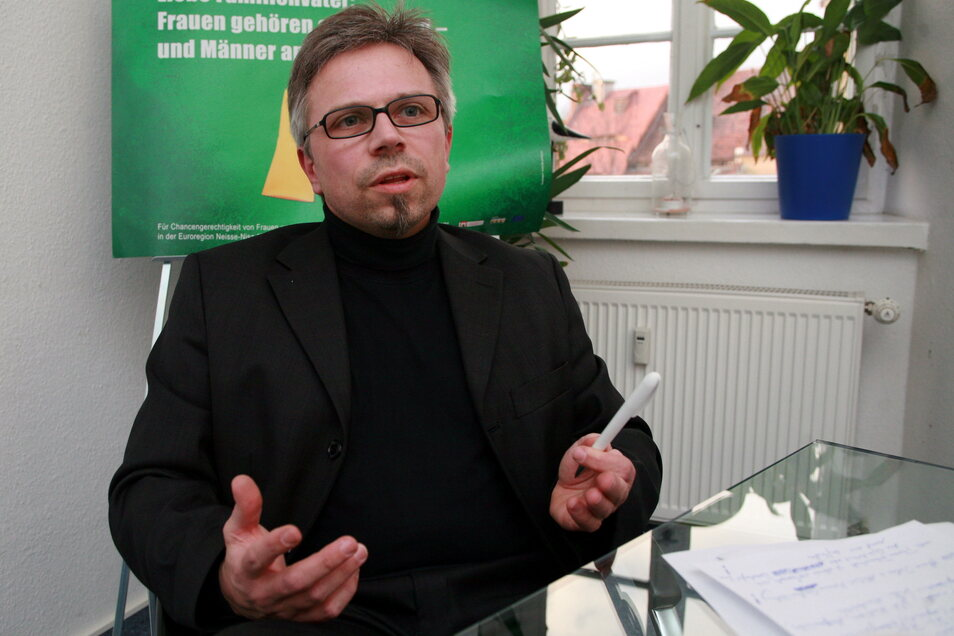 """Lutz Kühne, Geschäftsführer der Görlitzer Marketingagentur """"Die Partner""""."""