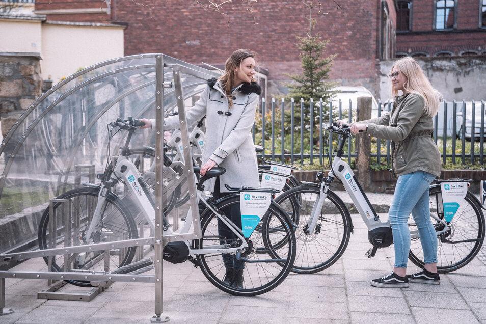 Mit den E-Bikes kehrt ein großes Stück Mobilität in die Stadt zurück.