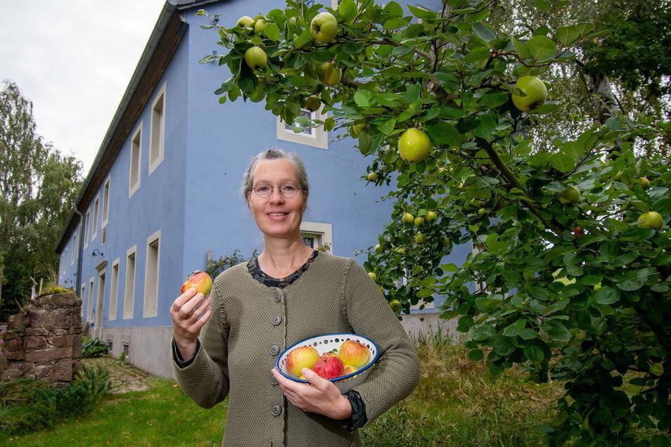 """Patricia Geyer hat das, was sie sich in Altenhof vorgenommen hat, umgesetzt. Jetzt geht die gebürtige Mannheimerin in ihre alte Heimat zurück – ohne genau zu wissen, wohin und was sie dort tun wird. """"Gärten planen, kann ich überall"""", sagt sie."""