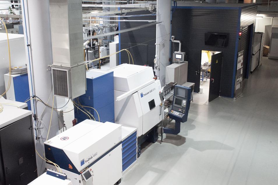 Das CAMT-Labor an der Universität für Wissenschaft und Technik in Breslau.