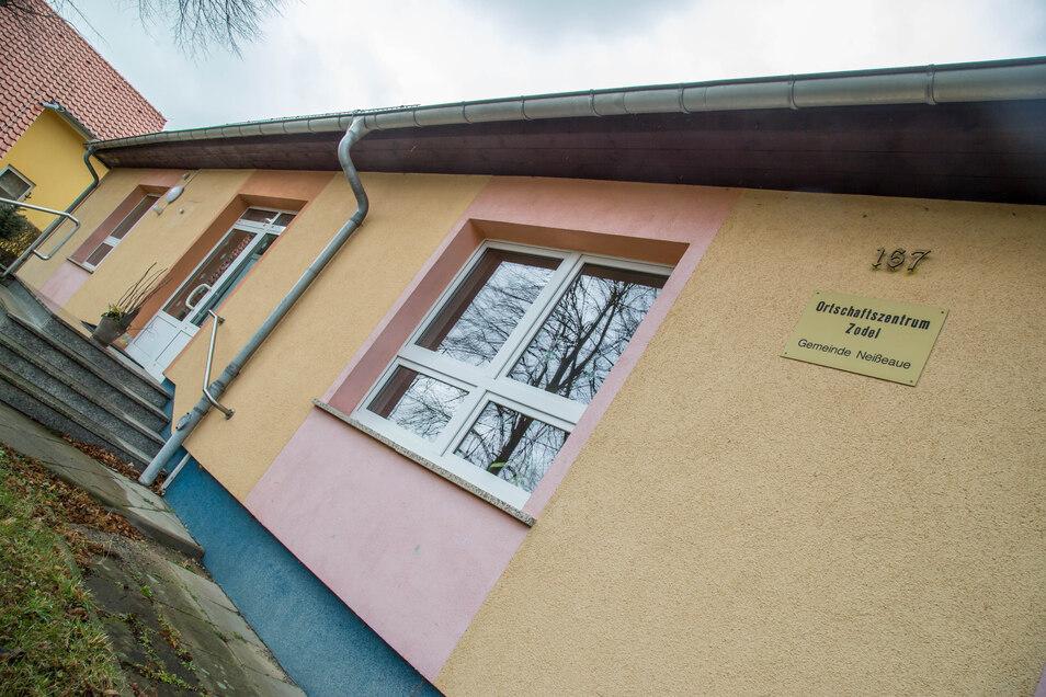 Das Ortschaftszentrum in Zodel steht neben Schule und Kindergarten. Hier ist die Auslastung der beiden Räume mit 25 Prozent am niedrigsten in der Gemeinde Neißeaue.