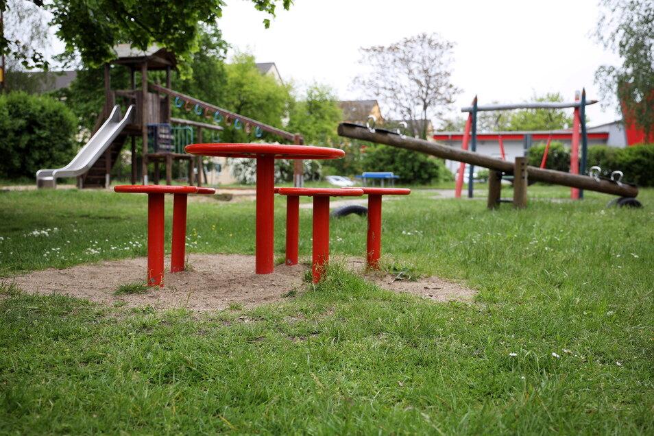 So sieht der Spielplatz in Weida heute aus.
