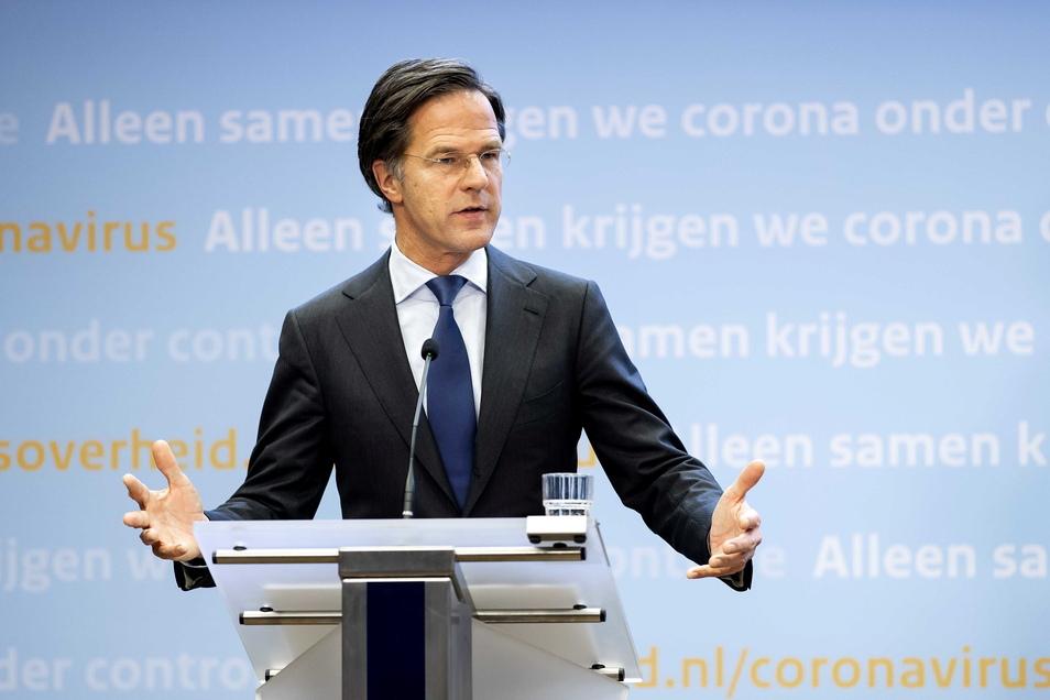 Mark Rutte hat gute Chancen auf einen Wahlsieg.