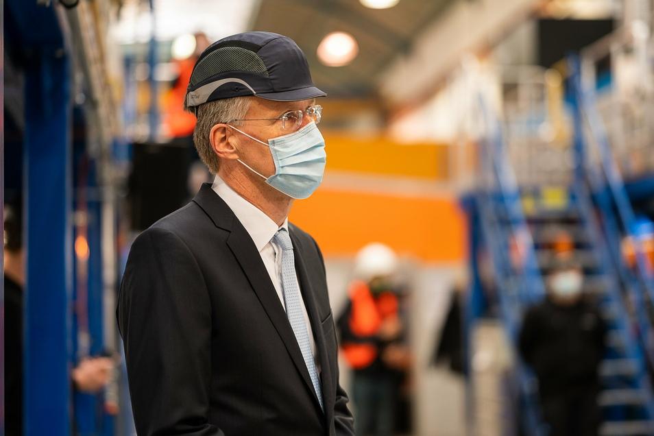 Robert Heuser ist der neue Mann an der Spitze des Görlitzer Bombardier-Werkes.