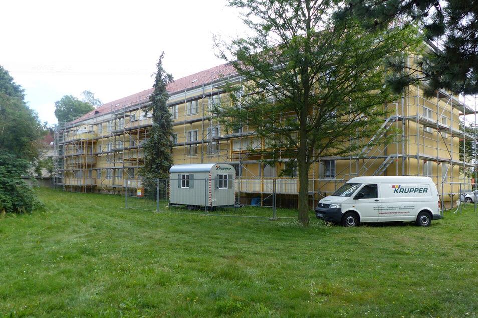 Bahnhofsvorplatz in Hoyerswerda