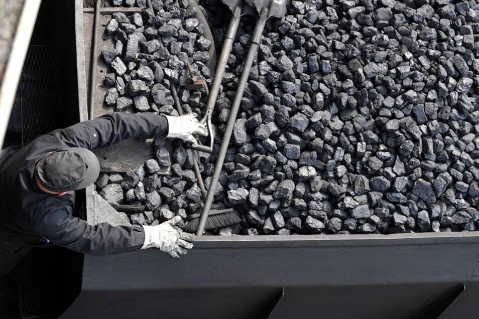 Jede Menge Kohle ist nötig, damit die alten Loks ins Rollen kommen.