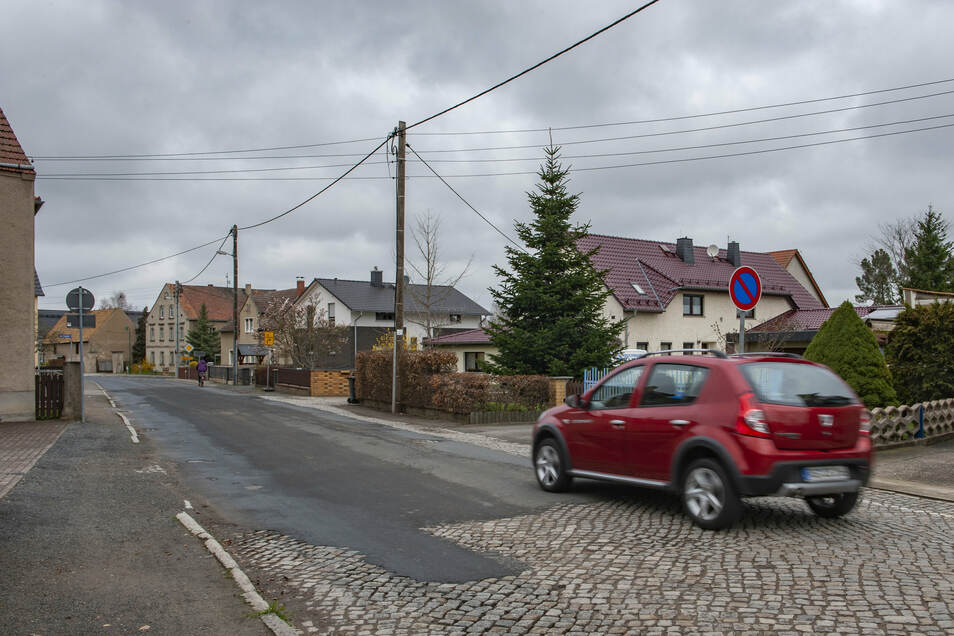 Die Erneuerung der Pflasterstraße in Zabeltitz kann beginnen.