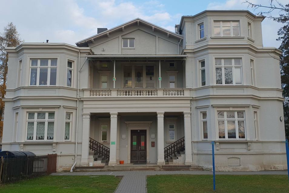 In den jetzigen Kindergarten von Leutersdorf zieht nach dem Neubau die Gemeindeverwaltung ein.