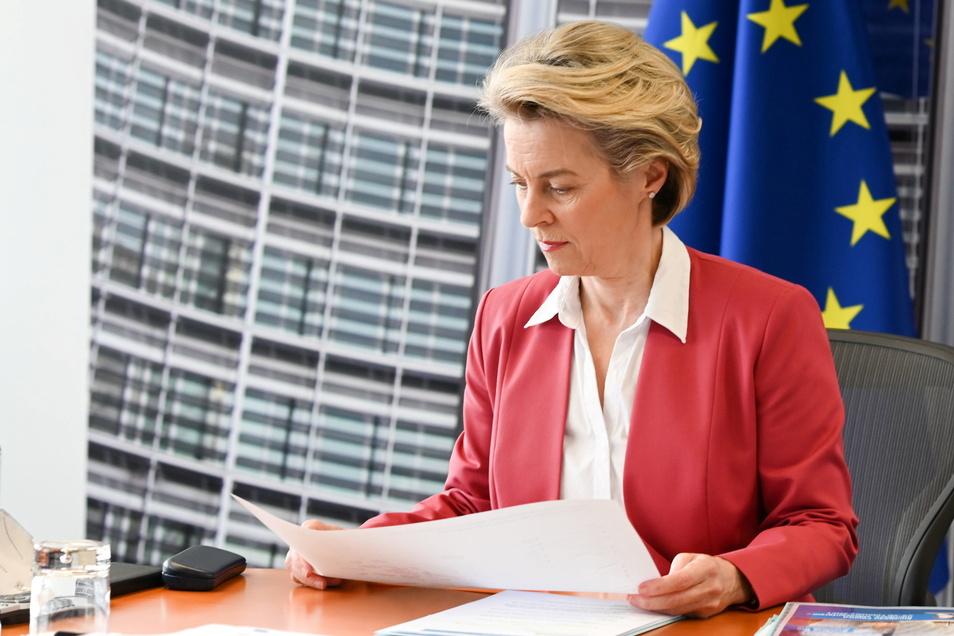 Ursula von der Leyen, EU-Kommissionspräsidentin, hat den Plan der EU bis 2030 vorgestellt.