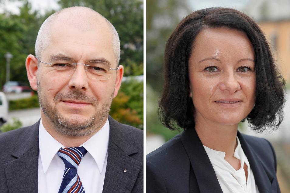 André Maywald kommt (links), Christina Lumper geht.