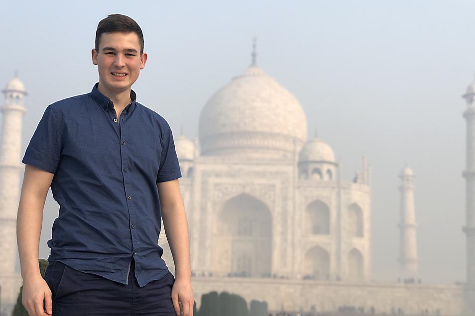Als Flugbegleiter in Vollzeit hat der Spremberger so einige Highlights gesehen, z.B. das Taj Mahal in Indien.