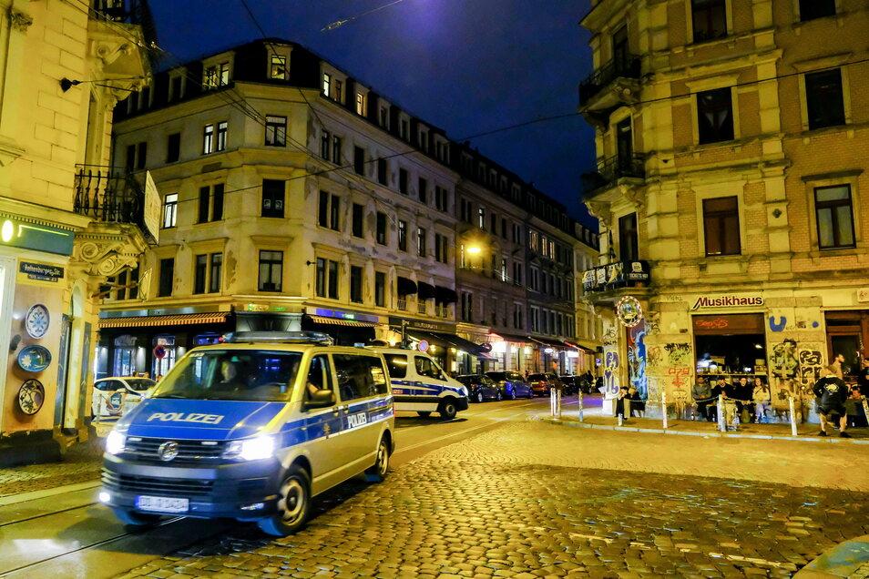Auf dieser Neustadt-Kreuzung muss die Polizei mit Angriffen rechnen.