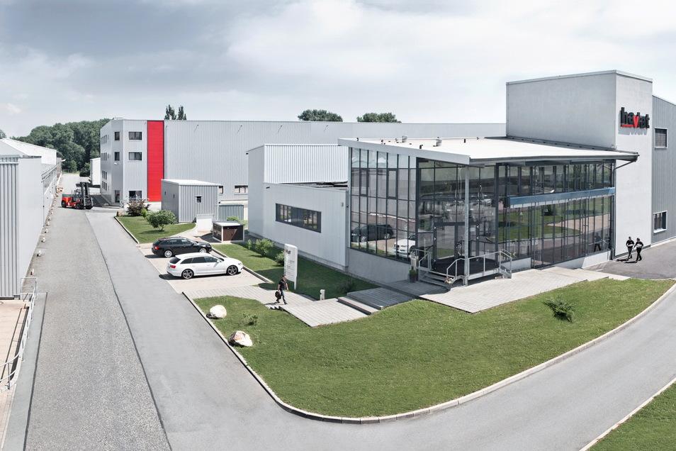 Die Firma Havlat in Zittaus Süden.