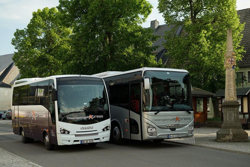 Der Osterzgebirgsexpress fährt wieder nach Dresden, Prag und Nordböhmen.