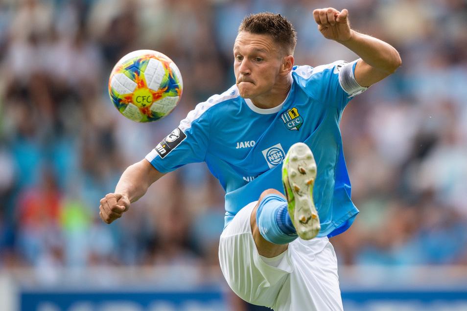 Daniel Frahn ist nicht mehr beim Chemnitzer FC am Ball, sondern für den SV Babelsberg 03.