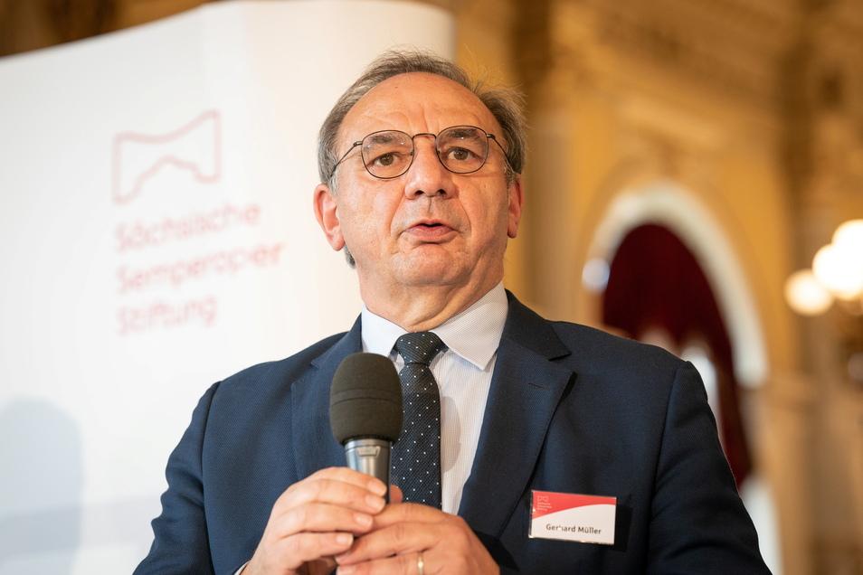 Gerhard Müller ist der Vorstandsvorsitzende der neuen Semperoper-Stiftung.