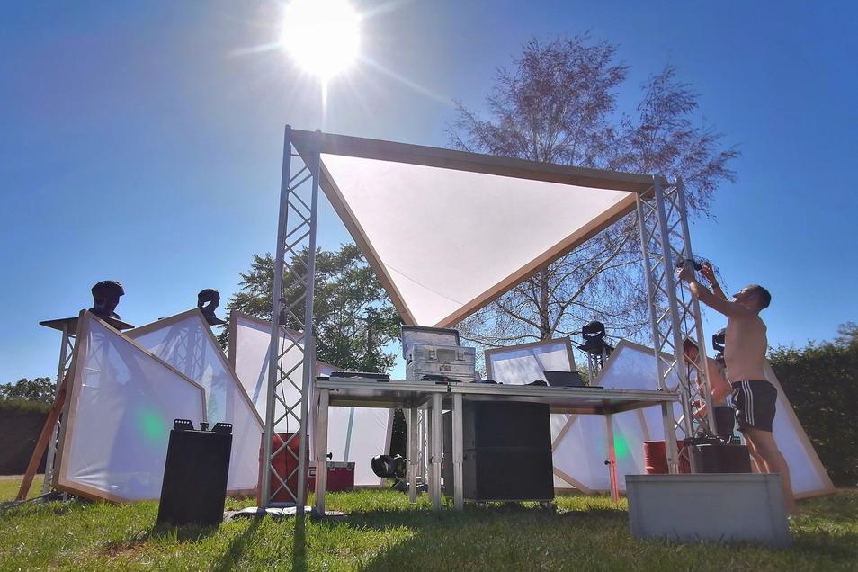 Der Verein Stroga-Festival bietet statt des abgesagten Großenhainer Sommerfestes einen Open-Air-Sonntag auf der Festwiese.