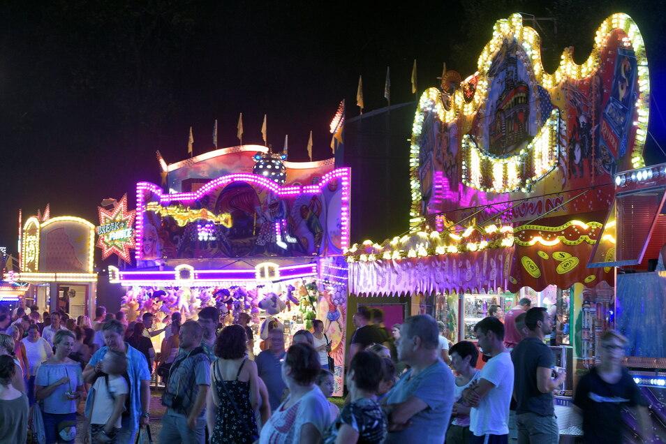 So viel Leben wird es aller Voraussicht nach beim diesjährigen Waldheimer Stadtfest nicht auf dem Rummel geben. Geplant wird mit einem Fest in abgespeckter Form.