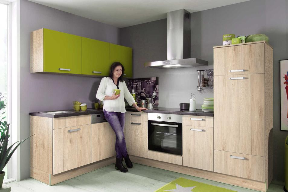 Wohlfühlen in der neuen Küche ist bei dieser Aktion sicher.