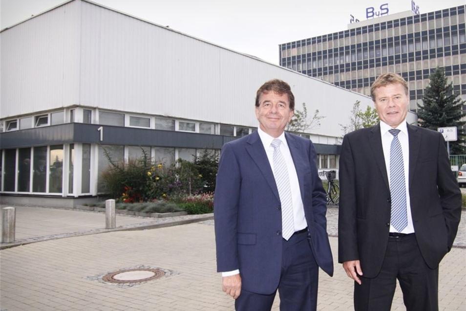 Vincent de Bok (l.) und Huub van de Vrande sind die neuen BuS-Vorstände.
