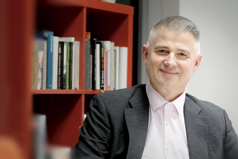 Kommt aus Berlin, ist aber in der Region Meißen aufgewachsen: Andreas Jahn (48). Er möchte als Direktabgeordneter für CDU in den Bundestrag. Aber nicht um jeden Preis. Den Präsenzparteitag in Großenhain hatte er angekündigt zu boykottieren.