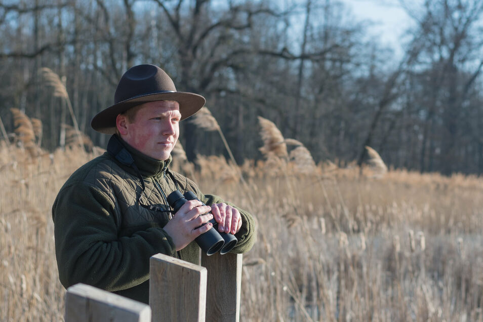 Yannik Otto ist der Nachfolger für seinen in den Ruhestand gegangen Kollegen Herbert Schnabel und wird als Ranger im Biosphärenreservat tätig.