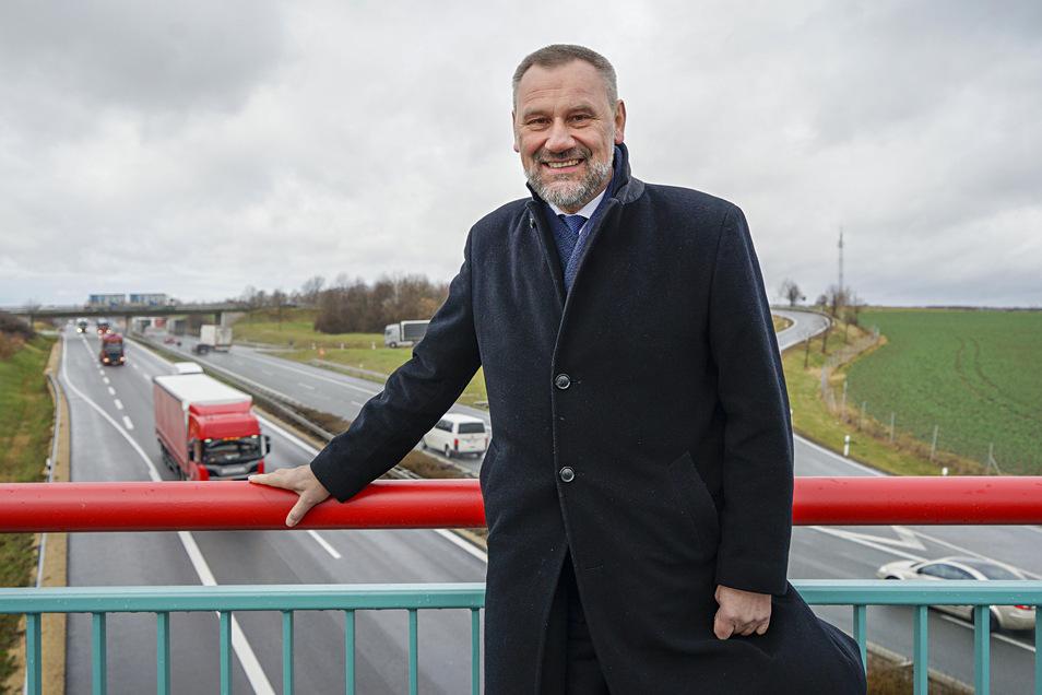 Eine rasche Verbindung von der A4 bei Weißenberg zur A15 fordert der CDU-Landtagsabgeordnete Marko Schiemann.