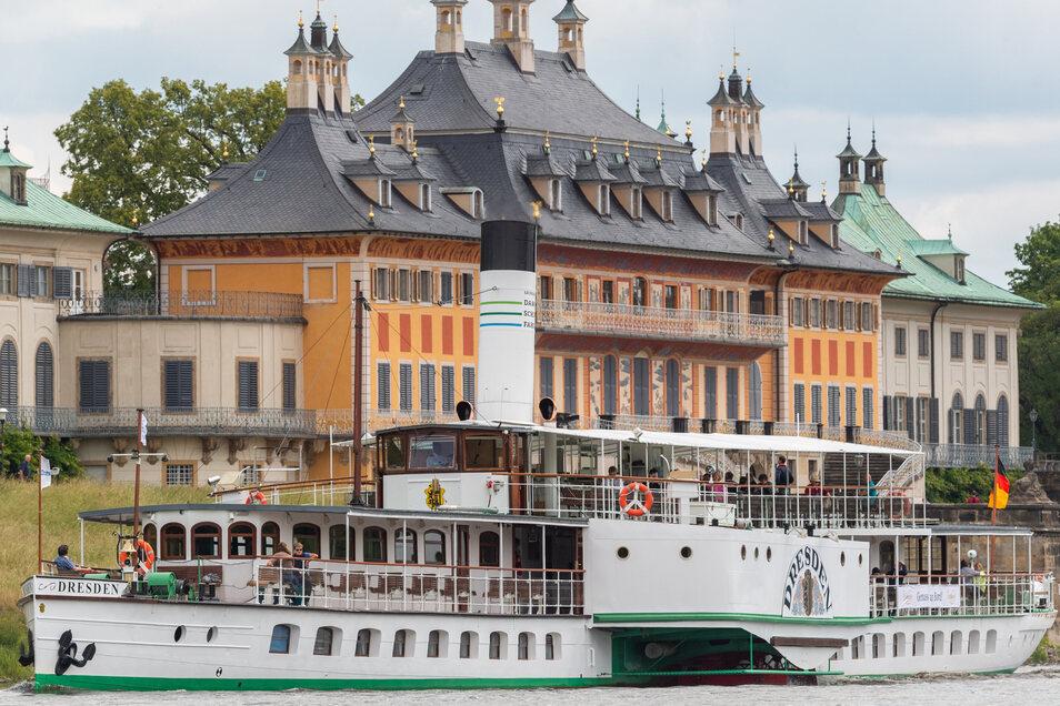 Es müssen noch Plätze frei bleiben auf den Dresdner Dampfern.