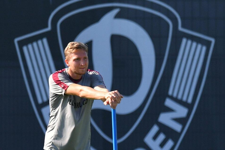 Marco Hartmann ist zurück bei Dynamo - und er verleiht der Mannschaft sofort einen anderen Geist.