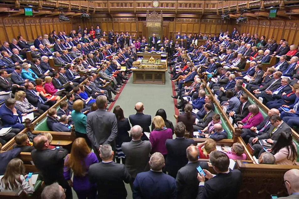 Blick auf das britische Parlament am 3. April 2019 (Symbolfoto)