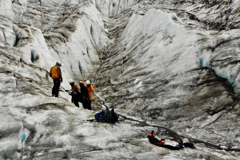 Eine Expedition im Zeichen des Klimawandels führt eine Dresdner Forscherin auf die Gletscher Ecuadors.