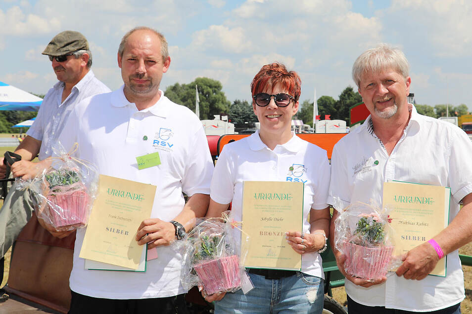v.l.n.r.: Frank Zschorlich, Sibylle Diehl, Matthias Kubitz