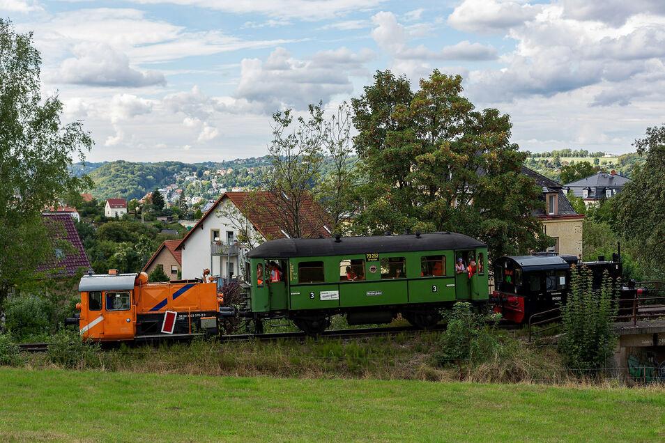 Die Windbergbahn eröffnet einen weiteren Streckenabschnitt Jetzt geht es bis zur Bannewitzer Straße.