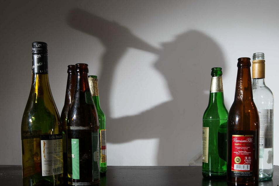 Der Alkohol als vermeintlicher Weg aus der Krise führt in eine neue und das seit Corona immer öfter.