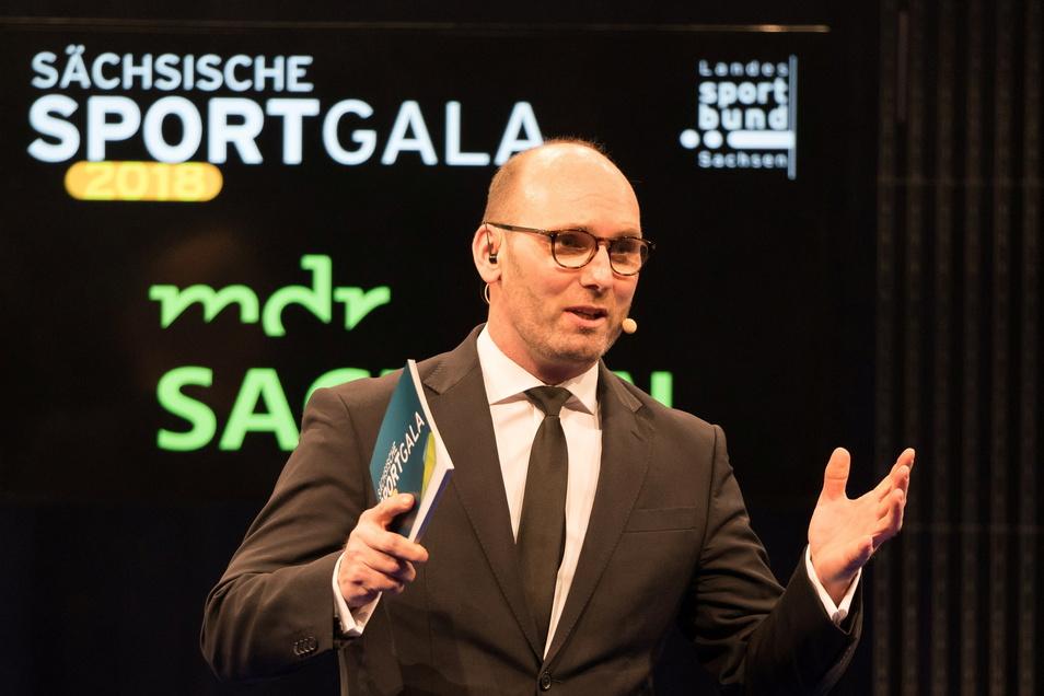 Moderierte in der Vergangenheit die Sportgala: Ex-Gewichtheber Marc Huster.