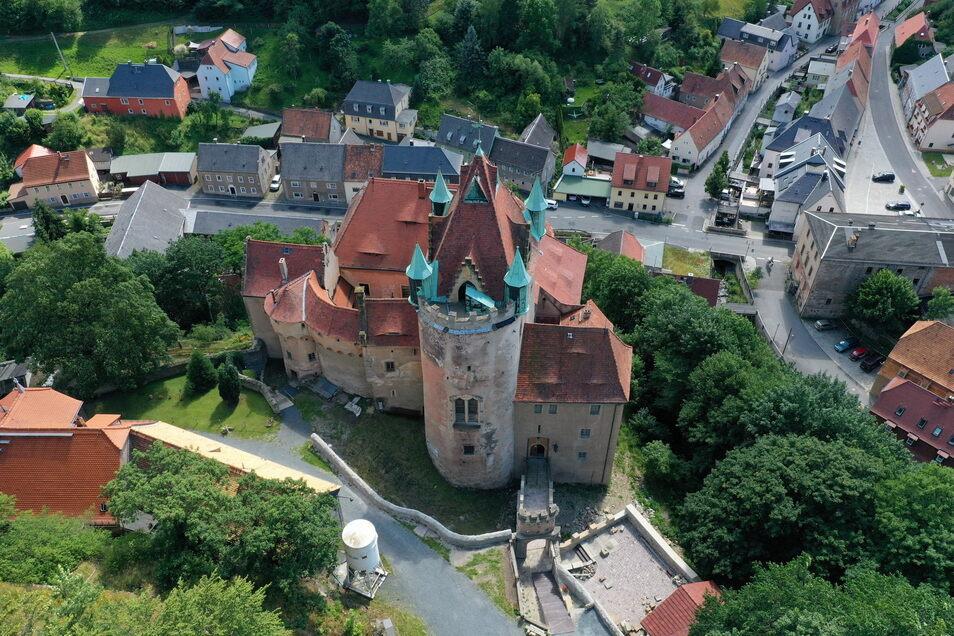 Wieder in privater Hand: Schloss Kuckuckstein im Seidewitztal.