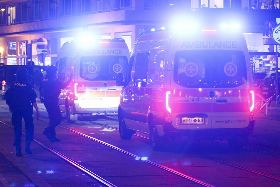 Knapp 50 Rettungswagen und mehr als 15 Notärzte sind im Einsatz, um Verletzte zu behandeln.