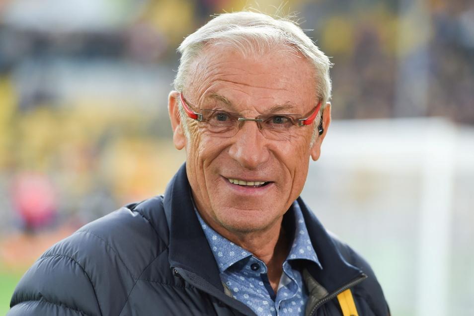 Eduard Geyer ist nach wie vor ein gefragter Experte, wenn es um Dynamo geht. Jetzt analysiert er den Aufstieg.