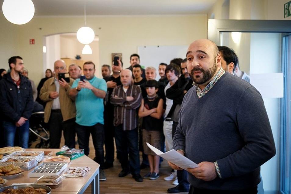"""""""Dies ist keine Moschee"""", betonte der Vorsitzende des Vereins, Reda Errafi."""
