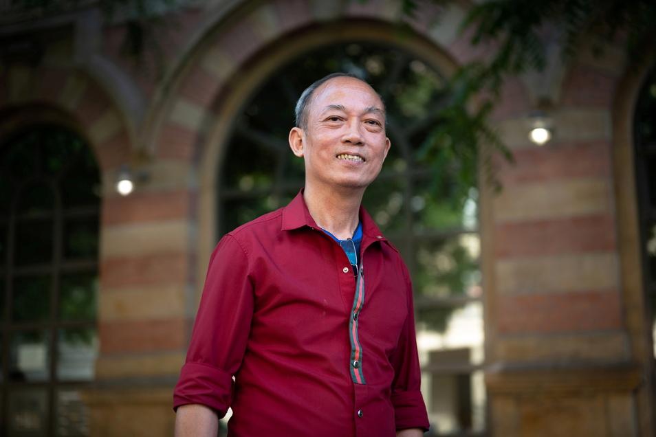 Búi Truong Bình steckt viel Zeit und Kraft in den Zusammenhalt der vietnamesischen Community in Dresden - und in deren Engagement für die Stadt.