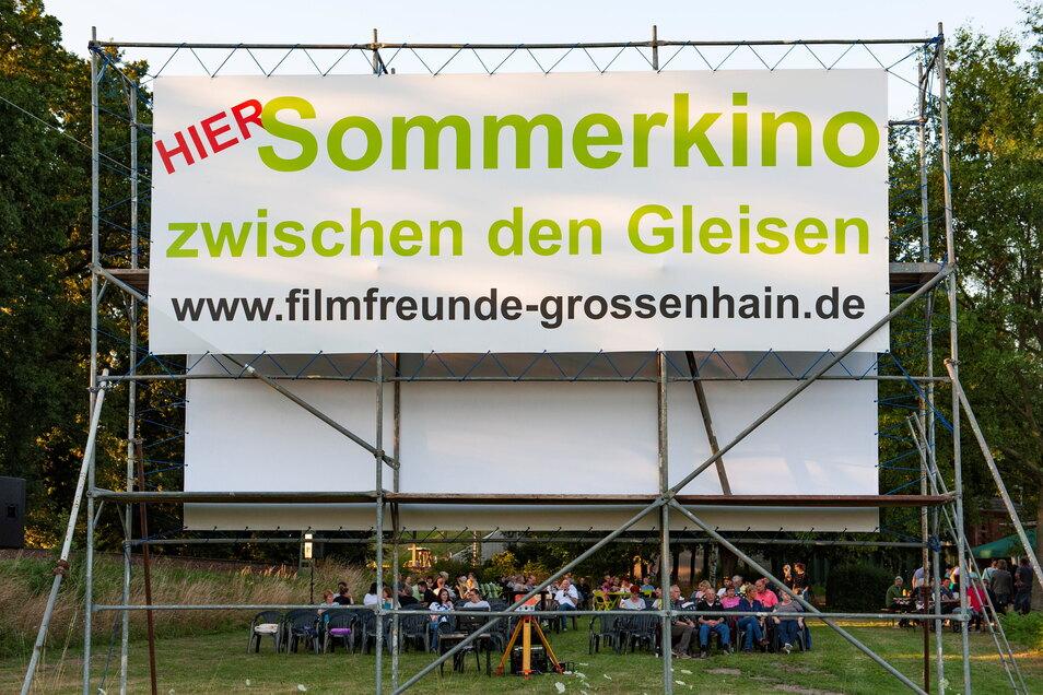 Am 17. Juli starten die diesjährigen Filmvorführungen an der Parkstraße in Großenhain. Es gibt vier Termine - wenn Corona nicht dazwischenfunkt.