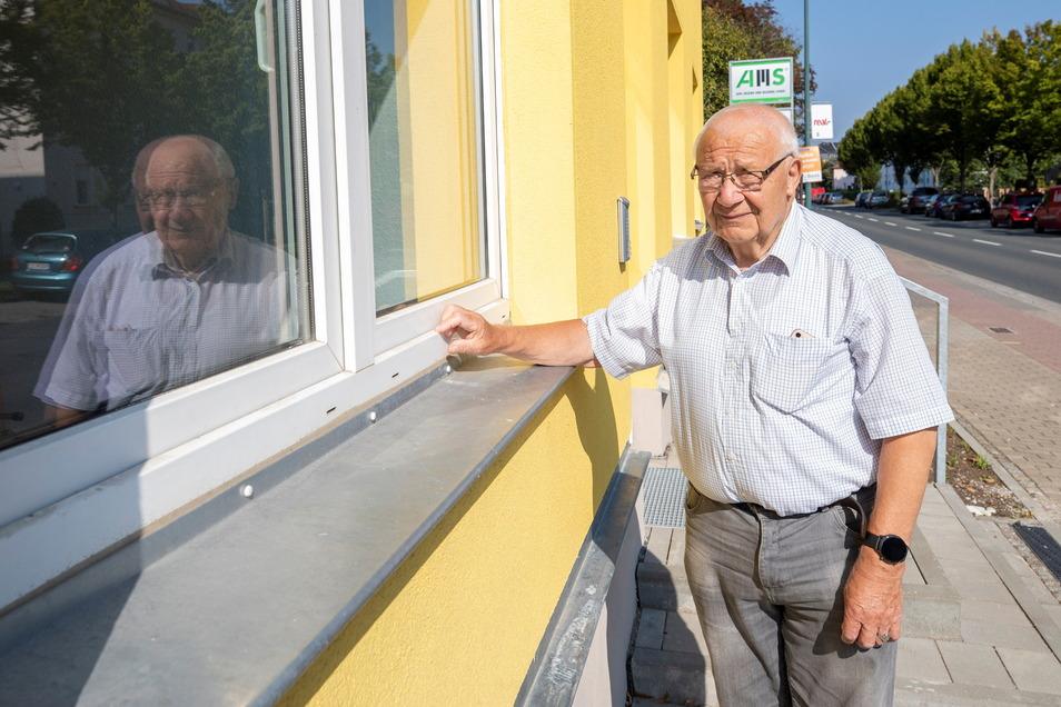 Konrad Eckoldt kennt das neue Mehrgenerationenhaus in Heidenau noch, da war es Kulturhaus von Druckguss.