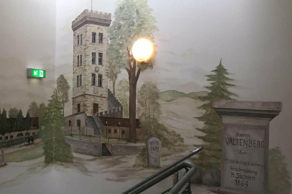 Auch im Heimatmuseum in Neukirch/Lausitz ist ein Werk des Wandmalers zu sehen.